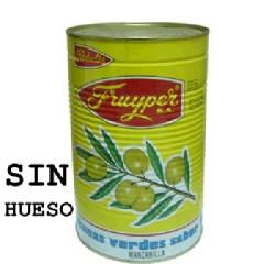 ACEITUNA VERDE SIN H [240-260] 3/5Kg FRUYPER